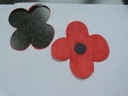 Cut out the poppy