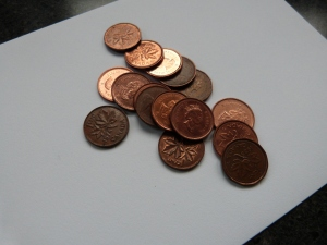 DD`s penny haul for making good choices this year...room for improvement in 2013? You bet!