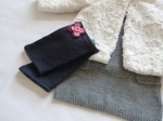 These boot cuffs can be worn over tall or short boots, or also be used as leg warmers.