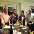Our family Hanukkah celebration, December 2011