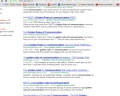 "Print screen image of a Google search for ""the golden rule"" of business communications"