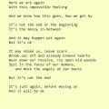 """""""Again,"""" poetry by Roshan James, Kitchener, Waterloo, Ontario, Canada"""
