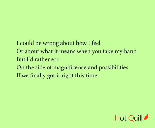 """""""I could be wrong"""" poetry by Roshan James, Kitchener Waterloo, Ontario, Canada"""
