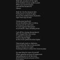 """""""Ancestors of the night"""" poetry by Roshan James, Wellesley, Ontario, Canada"""